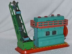 Rrr Antique Ultra Rare Toy 1950s Kiev Vtg Russian Soviet Metal Tin Elevator