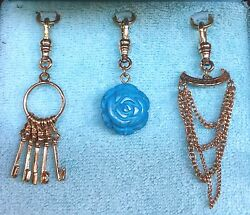 Rare Authentic 2005 Juicy Couture Charms Set-yjru0334