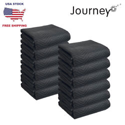 Packs Of Heavy Duty/deluxe/eco Quilted 80 X 72 Storage|furniture|moving Blankets