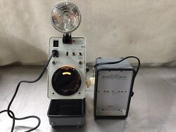 General Radio Strobotac Model 1538-a And 1538-p4 High Intensity Flash Capacitor