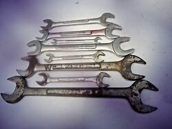 Craftsman V Series Set Of 8 Open End Wrenches Vintage____________________e-159