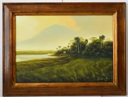 Quisbel Lezcano Blanco Oil Painting On Canvas Signed Dated 2001 Cuban Master Art