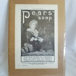 Pears' Soap Print Advertising 9x6 Vintage Pear's Ad The Independent Journal Ads