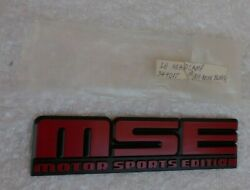 Nos 82 83 84 85 Trans Am Mse Motor Sports Edition Emblem 1982 1983 1984 1985 Red
