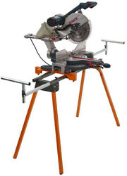 BORA Miter Saw Stand Folding Portable Adjustable Arm Support Workshop Compact