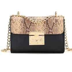 Woman Bag Chain Shoulder Bags Bolsas Feminina snake bag Messenger bags for women $11.99