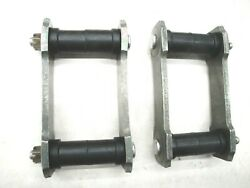 1949 1950 49 50 Ford Rear Spring Shackle And Bushing Kit New