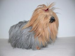 Yorkie Terrier Realistic Dog Life Like Fake Fur Dog Furry Animal ek
