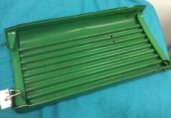 1964 John Deere Tractor 110 Round Fender Grill, Painted, Small Holes