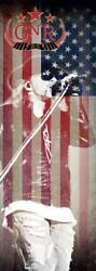 Guns N Roses/axl Rose Rock Flag/tapestry/fabric Poster Standing Door Size New