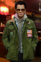 Screen Accurate True Romance M65 Field Jacket With Blood Chit, Christian Slater