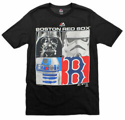 MLB Youth Boston Red Sox Star Wars Main Character T-Shirt Black $14.99