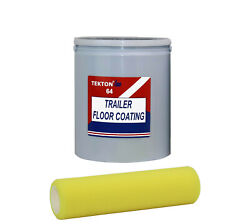Trailer Floor Paint Coating Fast Drying Protection Easy To Apply Roll On Coating