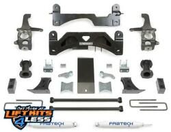 Fabtech K7009 6 Basic W/coilover Spacers Rear Performance For 2007-2015 Tundra