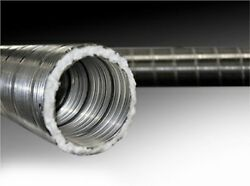 Forever Flex Preinsulated Flexible Chimney Liner Kit With Tee - 6 X 15and039