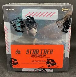 2019 Rittenhouse Star Trek Discovery Season 1 Sealed Archives Box A