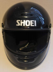 SHOEI RF-R XXL Motorcycle Helmet - Missing Face Plate Size Small 6 78 - 7 AS IS