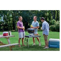 Portable Charcoal Grill Smoker Griddle Wood Smoked Portable Camping Event Party