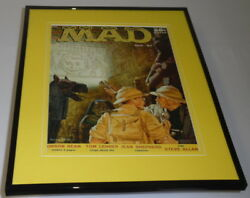 Mad Magazine 32 April 1957 Framed 11x14 Cover Display Orson Bean
