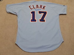 Tony Clark Game Worn Signed Jersey Detroit Tigers