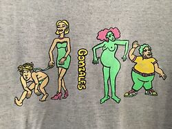 Vtg 80and039s Mark Gonzales Vision Streetwear Krooked T-shirt Skateboard Blind Deluxe