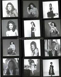 Superb SHERRY JACKSON Embossed CONTACT SHEET 11x14 Photo By Harry Langdon 2b