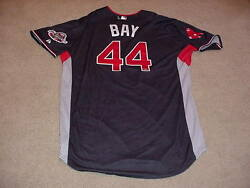 Jason Bay 2009 All Star Game Signed Jersey Mlb Red Sox