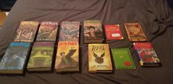 Harry Potter Hardcover First Edition Book Set J.k. Rowling