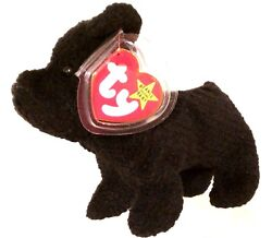 TY BEANIE BABIES 1996 Scottie the Scottish Terrier with Tag Errors RETIRED