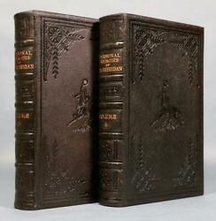 1888 1stED Personal Memoirs of P.H. Sheridan **SIGNED** Full Morocco JSA LOA