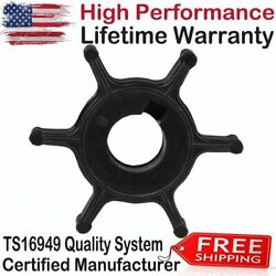 Water Pump Impeller For Yamaha 4hp Outboard Boat Motor 6e0443520000 6eo44352003