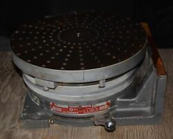 Ultradex Model B 12 Rotary Table / Indexer Horizontal Vertical S/n11042028