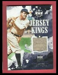 BABE RUTH GAME USED JERSEY CARD #d25 2018 DIAMOND KINGS JERSEY NEW YORK YANKEES