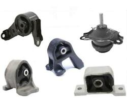 5pc Engine And Differential Mounts Fits Honda Element Automatic Transmission 03-11