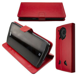 caseroxx Bookstyle-Case for Crosscall Trekker-X4 in red made of faux leather