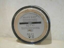 MARY KAY (LOT OF 3) MINERAL POWDER FOUNDATION IVORY 2 .28 OZ SEE DETAILS