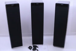 Meridian DSP5500 Left Center & Right Powered Speakers (Black) DSP5500C