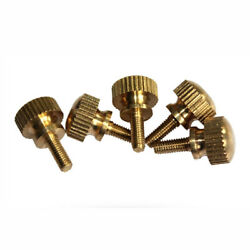 Brass Hand-twisted Screw High-head Knurling Step Double-layer Adjusting Bolt