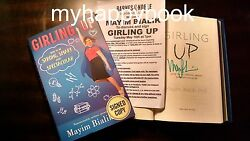 Signed Girling Up How To Be Strong, Smart And Spectacular By Mayim Bialik, New