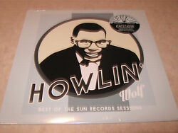 Howlin' Wolf-the Best Of The Sun Sessions Lp Barnes And Noble Blue Vinyl 1200 New