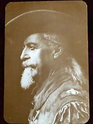 Old West Buffalo Bill Cody Collectors Series Post Card
