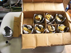 Replacement Parts 1730p Semi 20 Over Pistons W/ Wrist Pins 8