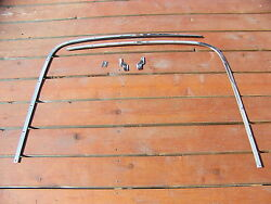 1965 Plymouth Sport Fury Convertible Well Trim Oem 5 Pcs 2528666 2528667