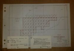 1943 Us Army Maps Southern Morocco Ams P632 49 Sheets Complete Set