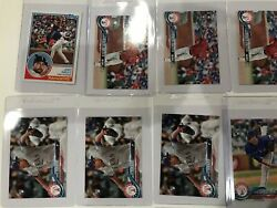 2018 Toops Update Baseball Texas Rangers Rc Rookies And Star Lot Of 17 Cards Gallo