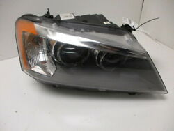 11 12 13 14 BMW X3 RH Xenon Passenger Head Lamp W/Adaptive Light Control OEM LKQ