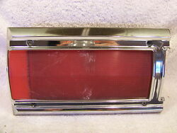 1971 Plymouth Custom Suburban Lh Inner Taillight Lens And Housing Station Wagon