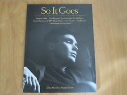 So It Goes Magazine Issue 3 Vol 1 2014 Cillian Murphy On Rare Cover New.