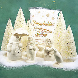 Retired Department 56 Snowbabies Jolly Friends Forevermore Dept 56 New In Box