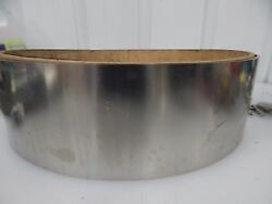 301 Stainless Steel .01 Thick 4.75 Wide 10+lbs Sheet Strip Shim Stock 4-3/4 304